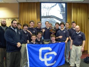 2011 State Champs L-R: A lot of CC quiz bowlers